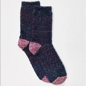 New Fuzzy LOFT Socks